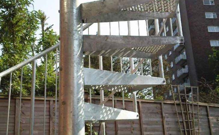 Spiral Staircase London Simple Small Access Domestic