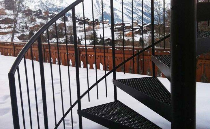 Spiral Staircase Switzerland External Staircases