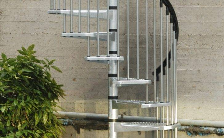 Spiral Staircases Enduro Steel Outdoor Staircase Kit