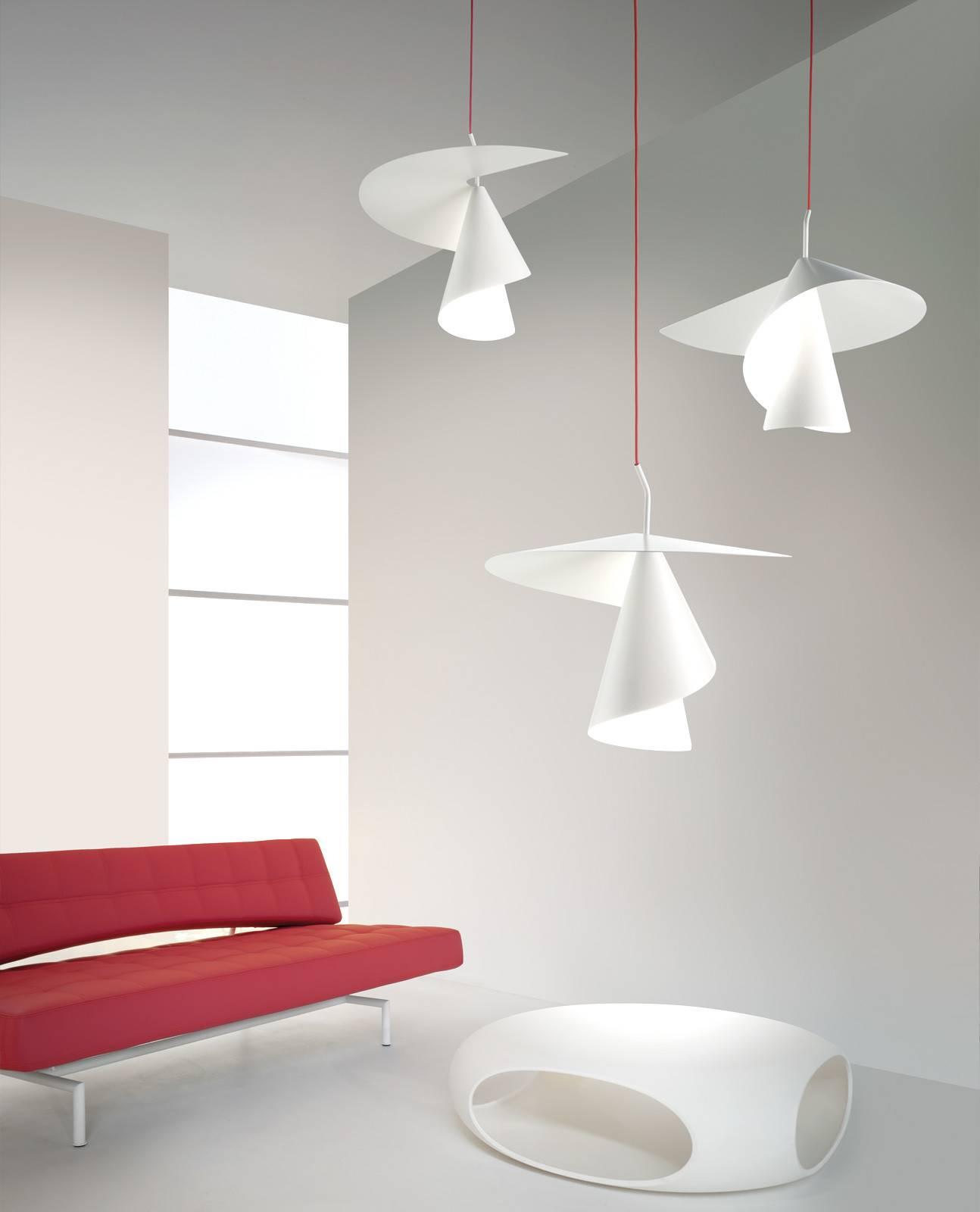 Spiry Hanging Lamps Axo Light Line