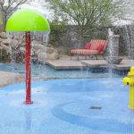 Splash Pads Home Backyard Rain Deck