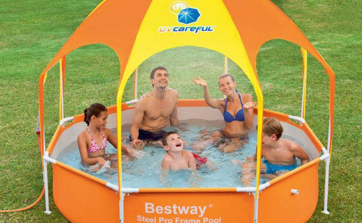 Splash Shade Play Pool Above Ground Wading Sunshade
