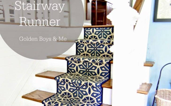 Split Level Foyer Diy Stair Runner Goldenboysandme