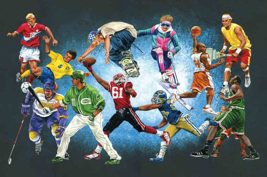 Sports Murals Related Keywords Suggestions Long Tail