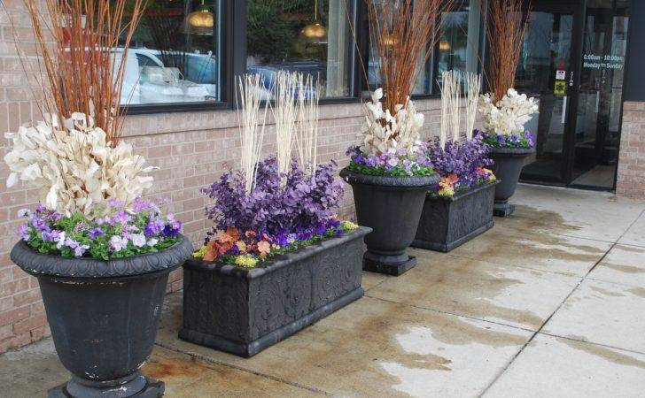 Spring Planters Outdoor Decorating Pinterest