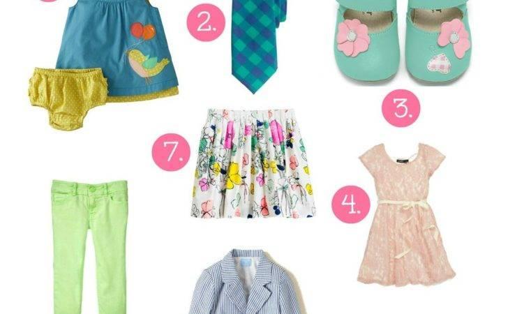 Spring Trends Kids Savvy Sassy Moms