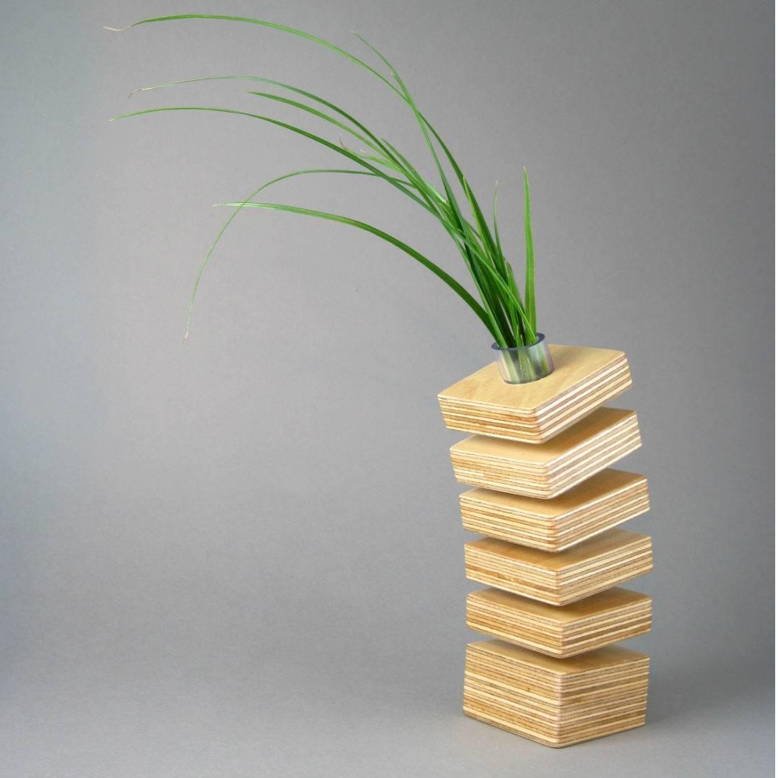 Spring Vase Homeware Furniture Gifts Mocha
