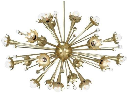Sputnik Satellite Launched Chandeliers Euro Style