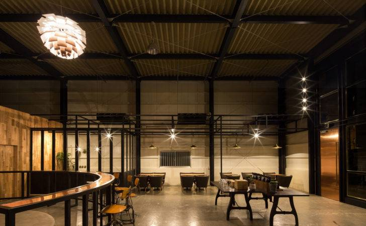 Sqm Coffee Shop Cafe Design Idea Warehouse Conversion Home