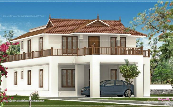 Square Feet House Exterior Design Home Kerala Plans
