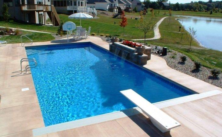 Square Swimming Pool Designs Intended Home House