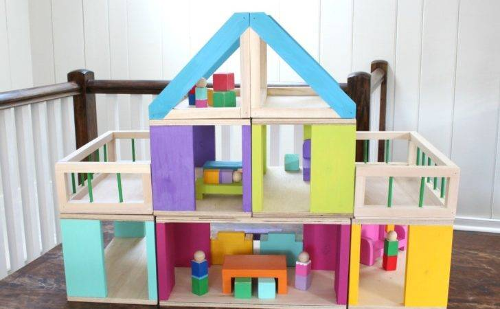Stack Kids Can Make Their Own Dollhouse Diy Plans Ana White
