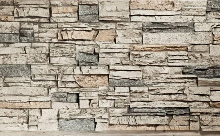 Stack Stone Quarry Gray Panels Decor