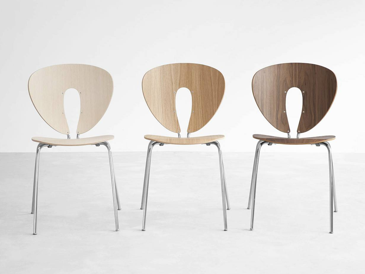 Stackable Wooden Chair Globus Stua