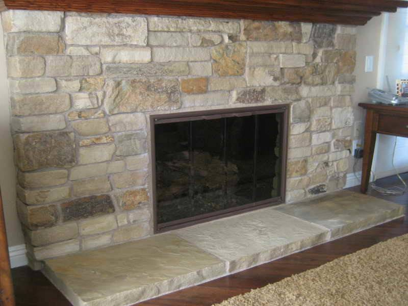 Stacked Stone Fireplace Ideas Cultured