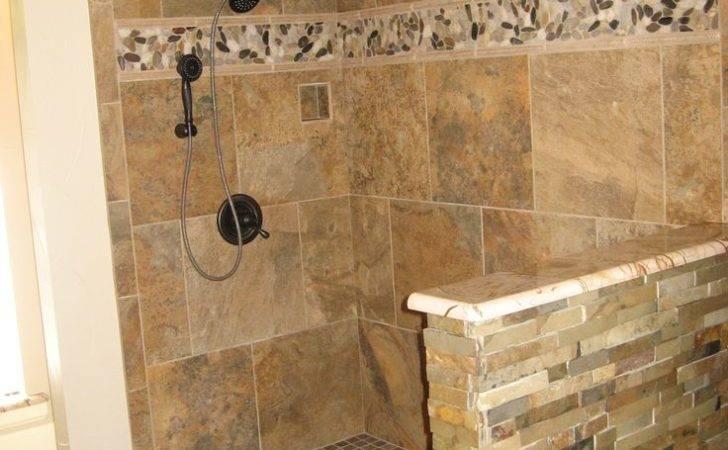 Stacked Stone Shower Walls Pinterest World Catalog Ideas