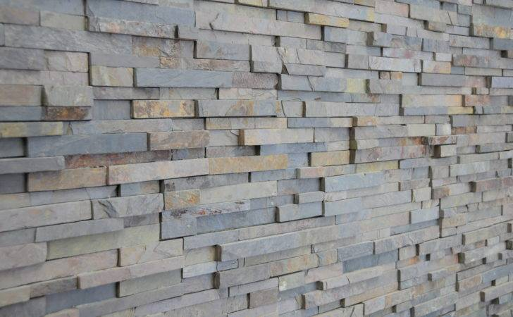 Stacked Stone Veneer Kitchen Modern Ledgestone Slate Stack