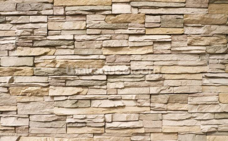Stacked Stone Wall Mural