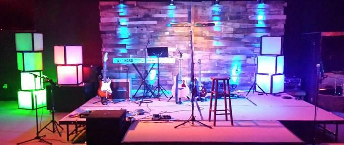 Stacks Deck Church Stage Design Ideas
