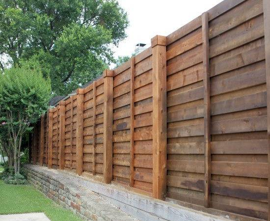 Stain Color Right Want Whole Fence