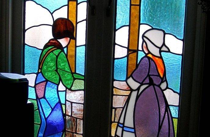 Stained Glass Art Deco