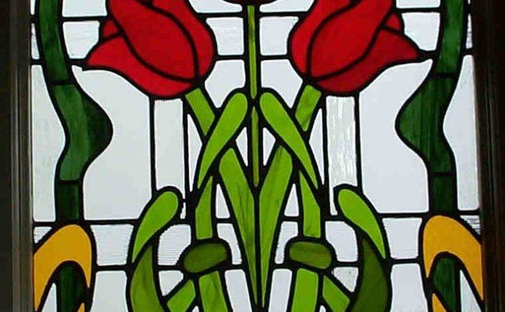 Stained Glass Tulips Pinterest