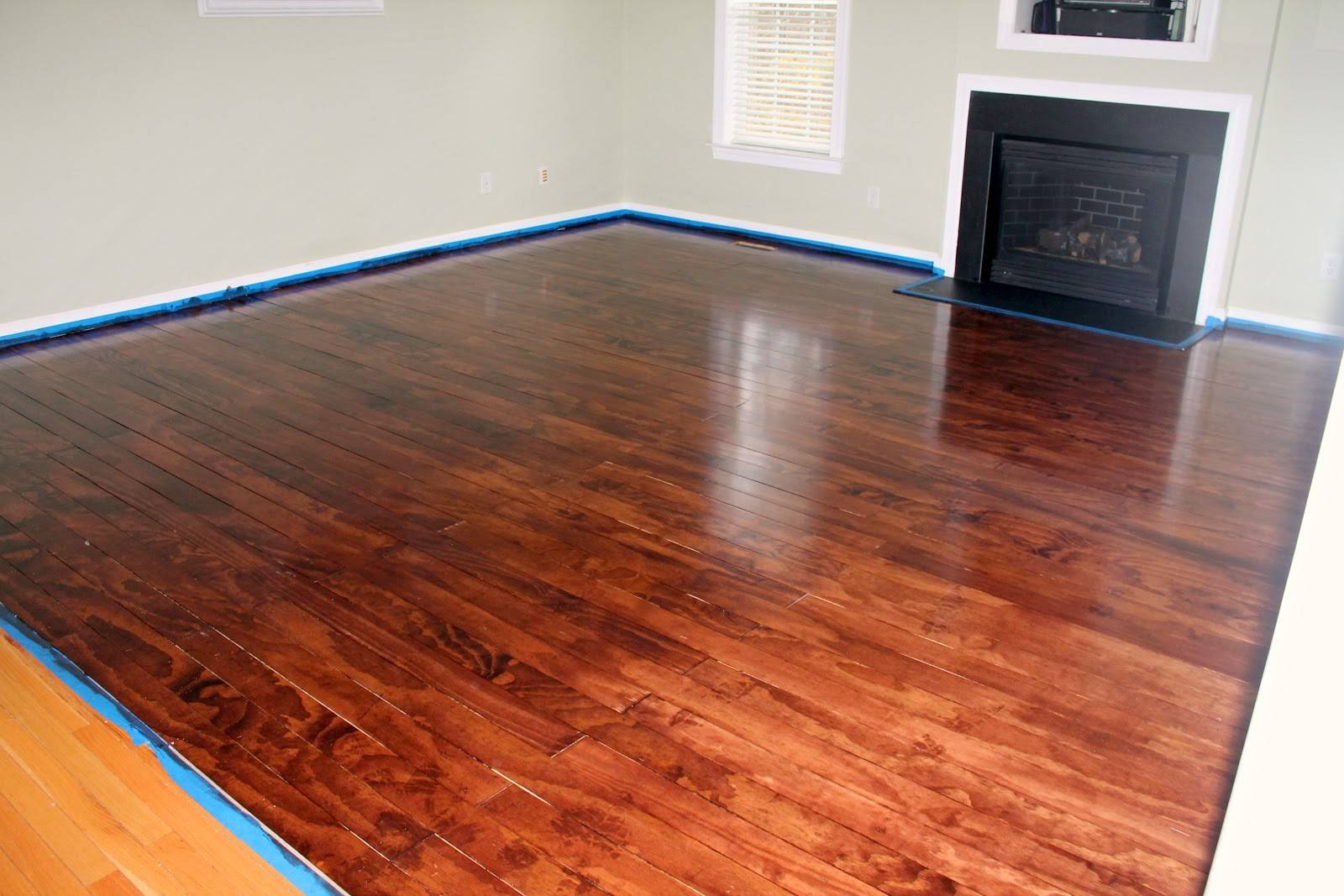 Stained Plywood Floor Floors