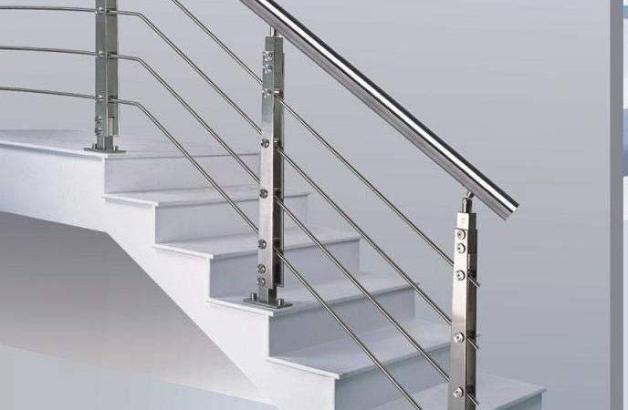 Stainless Steel Handrail Stair Fittings