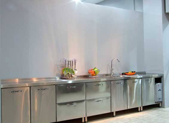 Stainless Steel Kitchen Cabinets Restaurant
