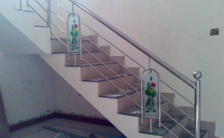 Stainless Steel Staircase Design Kerala Tech Industries