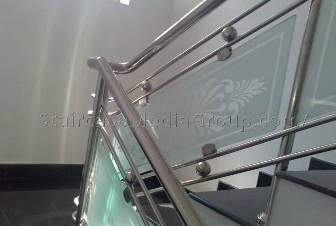 Stainless Steel Staircase Design Kerala