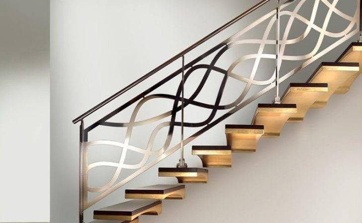 Stainless Steel Staircase Railings Interior Stair Railing Ideas