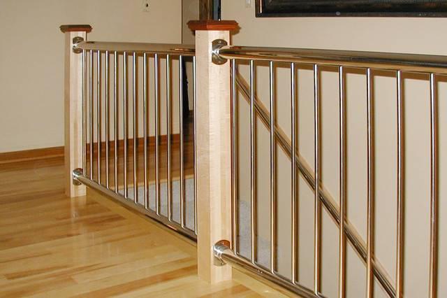 Stainless Steel Vertical Baluster Railing Modern Home