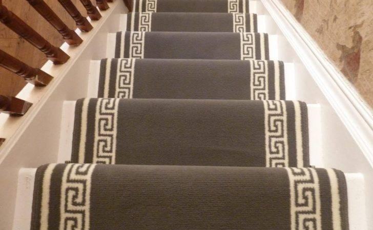 Stair Carpet Runners Colour Grey