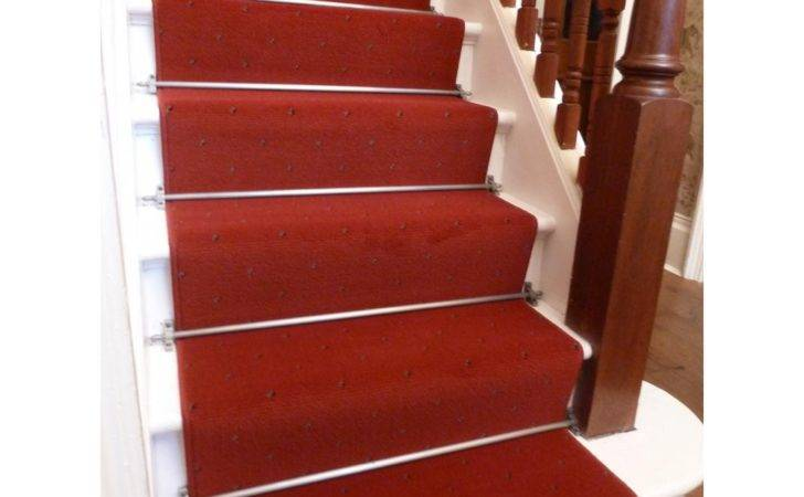 Stair Carpet Runners Colour Red