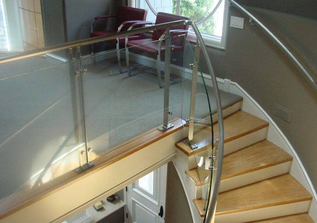 Stair Glass Banister