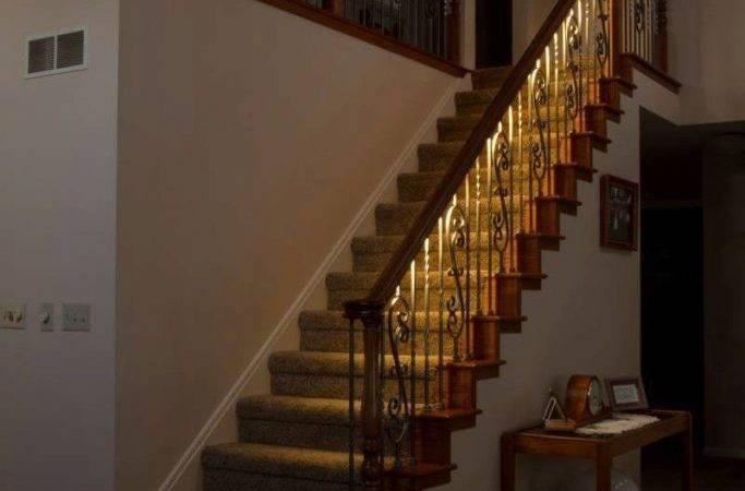 Stair Handrail Lighted Leds