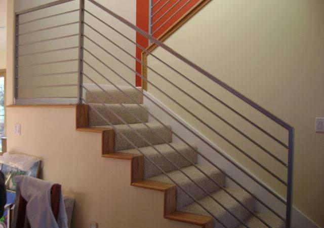 Stair Railing Also Stairways Interior Rail Designs
