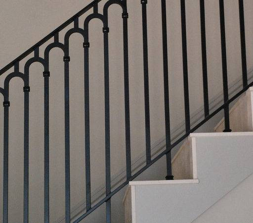 Stair Railing Contemporary Staircase Phoenix Grizzly Iron