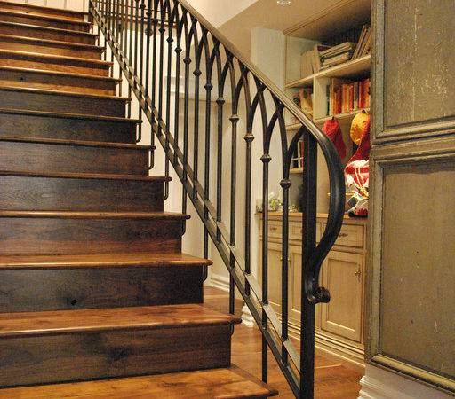 Stair Railing Traditional Staircase Phoenix Grizzly Iron