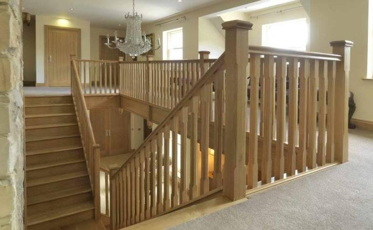 Stair Spindle Railing Wood