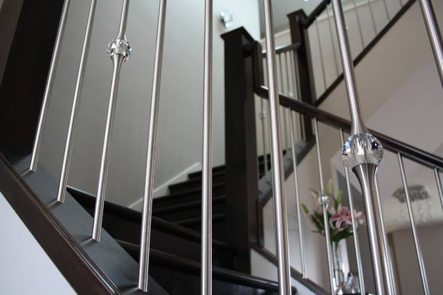 Stair Spindles Modern Stairs Pinterest