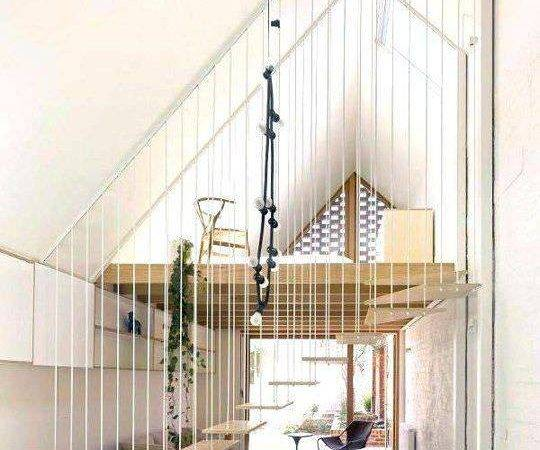 Staircase Designs Small Spaces Living Room Design