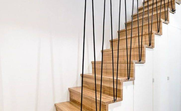 Stairs Balustrade Rope Stair Railing Handrail Ideas