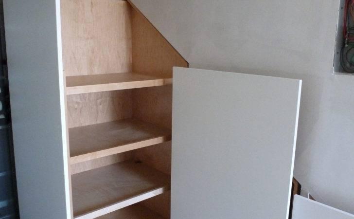 Stairs Cut Under Storage Stair