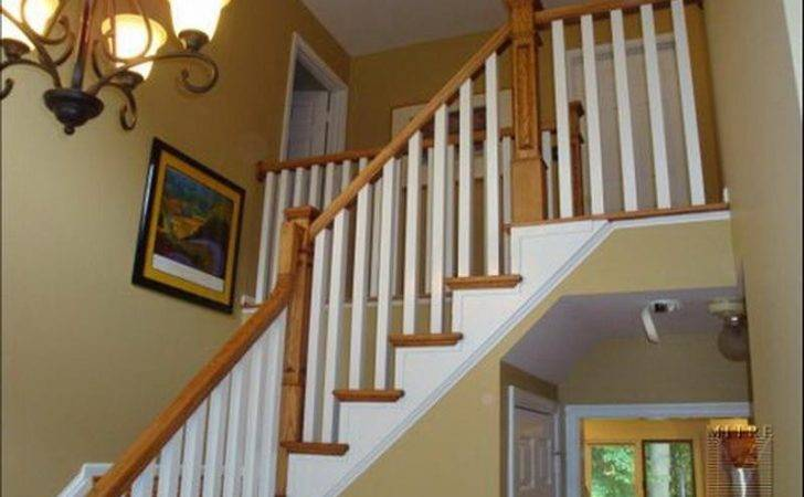 Stairs Modern Baluster Spacing Install Deck