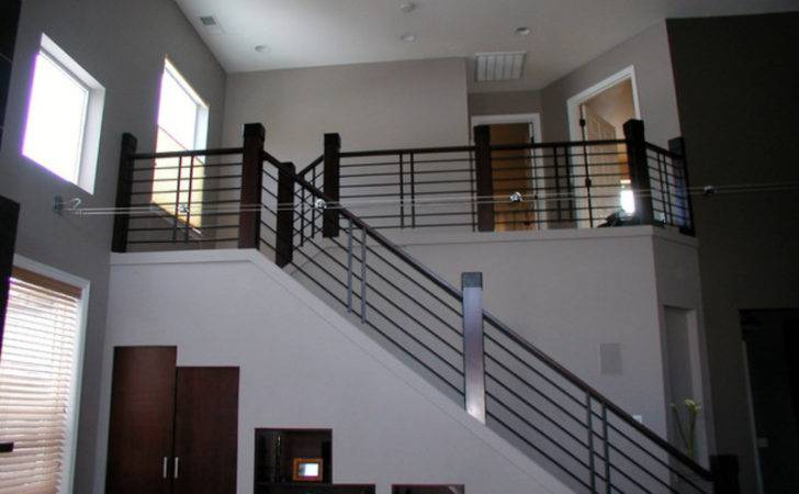 Stairs Railing Modern Spindles Newel Posts