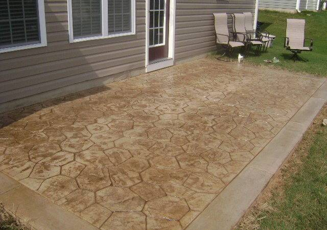 Stamped Concrete Designs Raleigh Wake Forest