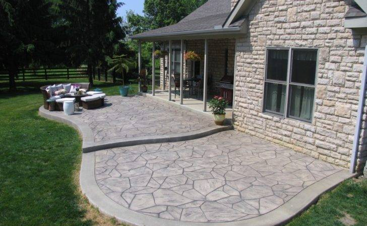 Stamped Concrete Driveways Patios Walkways Pool Deck