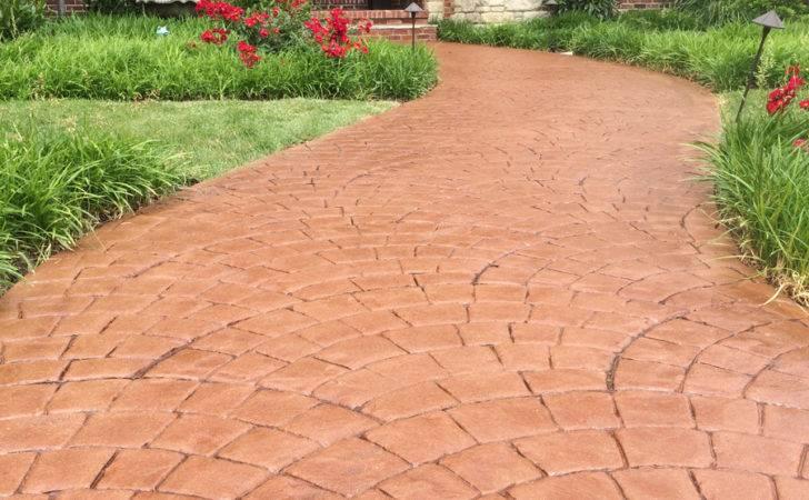 Stamped Concrete Overlay Ideas Decorative Resurfacing